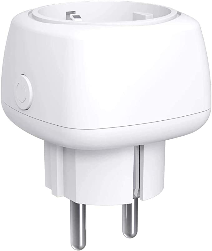 Meross Enchufe Inteligente WiFi Mini - Smart Plug 10A con Control Remoto, Compatible con Alexa, Google Assistant y SmartThings, Wi-Fi Smart Plug.