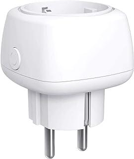 WLAN Smart Socket, Meross Smart Mini Socket Intelligente WiFi-stekker, compatibel met Alexa, Google Home en SmartThings 10...