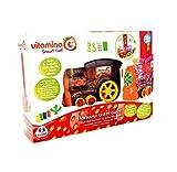 Globo- Locomotiva con Domino, Multicolore, GLO1089