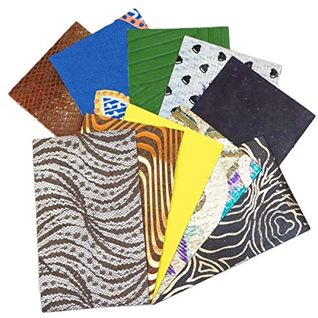 Springfield Leather Company 10 pk 5x3 Printed and Embossed Pre-Cuts (Prime)