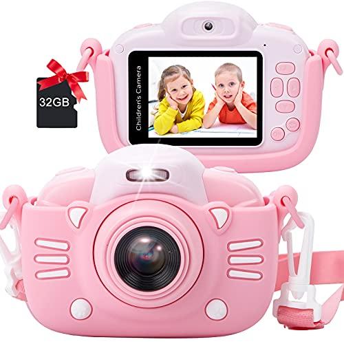 MINIBEAR Kids Camera 2.4 Inch 1080P HD Digital Camera 30MP Toy Camera for...