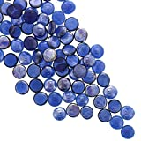 Glass Pebbles, Vase Fillers (Navy Blue, 400 Pieces)