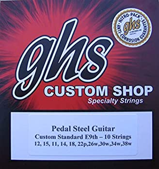 GHS E9th-10  nickel  Pedal Steel Guitar Strings With Air Tight Packaging Called Nitro-Packs