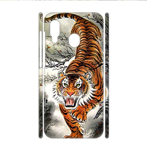 Babu Building Hombre Parachoque para Huawei Honor 8X Tener con Asian Tiger Teléfono Cáscara Dura Pc