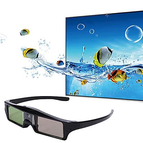 Universal 3D Active Shutter Brille, wiederaufladbare 3D Brille für alle DLP-Link 3D, wiederaufladbare 3D Brille mit hochtransmittierender Linse, für Optoma BenQ Acer Dell Deutschland Projektor