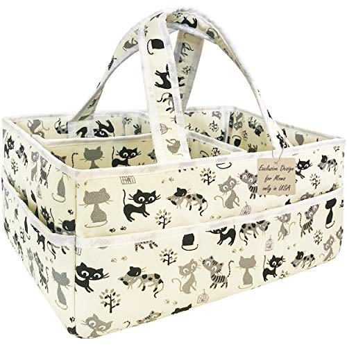 Baby Diaper Bag Organizer Unisex - Extra Large Baby Diaper Caddy Organizer - Nursery Diaper Caddy Portable - Diaper Bag Organizer Pouches - Diaper Caddy Basket And Baby Shower Gifts For Boys & Girls