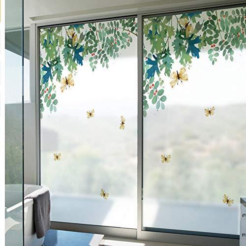 Djkaa 2019 kleur ramen stickers balkon vensterbank slaapkamer doorschijnend ondoorzichtig badkamer woonkamer badkamer decoratie glas folie-15