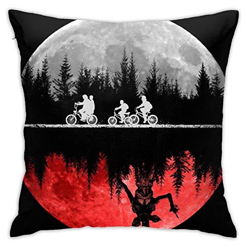 Stranger Things, federa decorativa per cuscino per soggiorno, camera da letto, divano, sedia, 45 x 45 cm