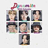 Dynamite 2021 calendar: Dynamite 2021 calendar: 8.5 x 8.5 glossy perfect calendar to decorate your office desc or as to gift for bts lovers and fans