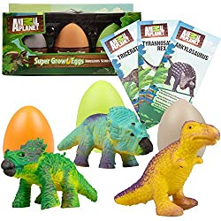 Animal Planet Grow Eggs- Dinosaur - Hatch and Grow Three Different Super-Sized Dinos