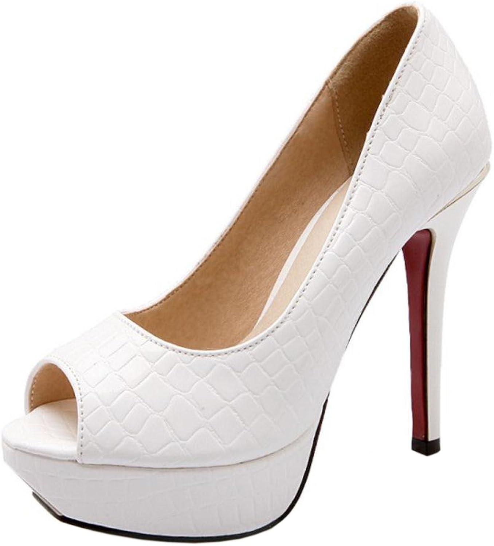 RizaBina Women Slip On Heels Punps shoes