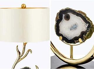 Lampe de Table Lampe de table en agate blanche postmoderne simple chambre d'h?tel de luxe lampe de table lampe de table mo...