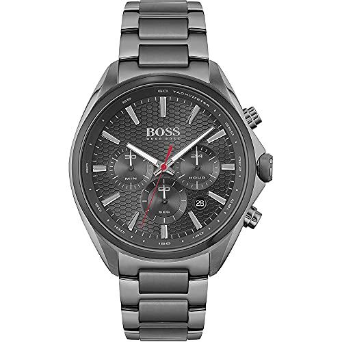Hugo BOSS Reloj Cosa análoga para de los Hombres de Cuarzo con Correa en Acero Inoxidable 1513858