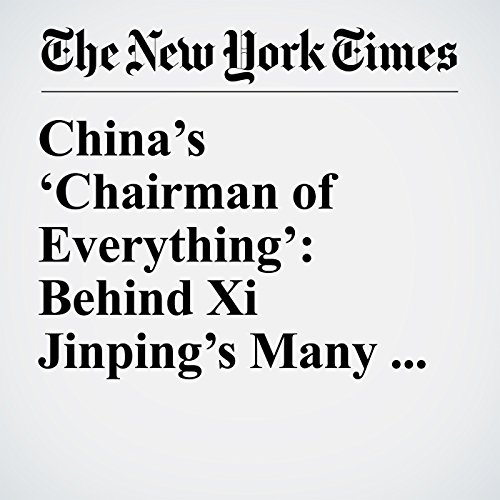 China's 'Chairman of Everything': Behind Xi Jinping's Many Titles copertina