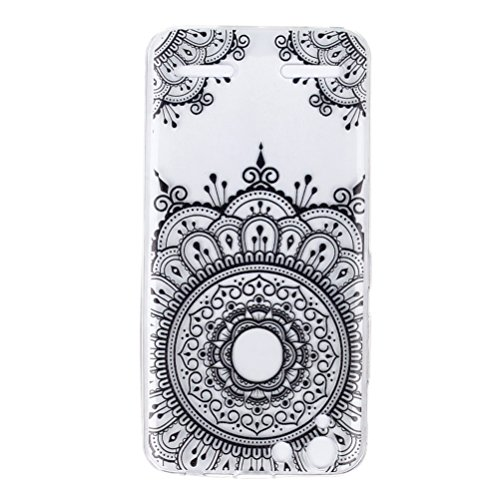 Hemobllo 1pc Colored Drawing Phone Case Anti-Scratch Clear Shock Proof TPU de protección Funda de…