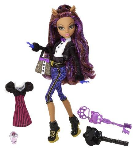 Mattel W9191 - Monster High Clawdeen, Tochter des Werwolfs, Puppe