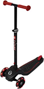 QPLAY Patinete Future Scooter Rojo Luces Led : Amazon.es ...