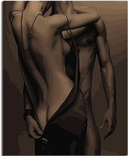 tienda hace compras y ventas QIAISHI Pintura al óleo enmarcada Pintura DIY DIY DIY by números Figura Pintura para Colorar by números decoración del hogar para Sala de Estar Arte de la Parojo  lo último