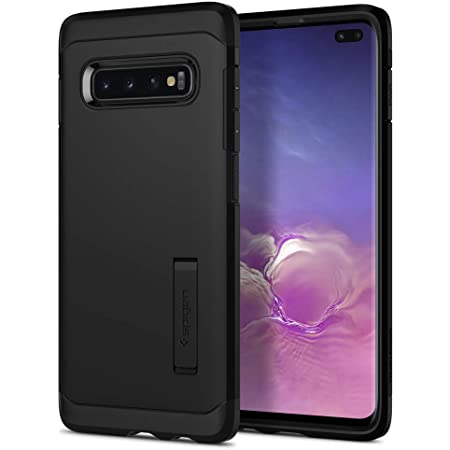 Spigen Tough Armor Funda Compatible con Samsung Galaxy S10 Plus Case (2019) - Negro