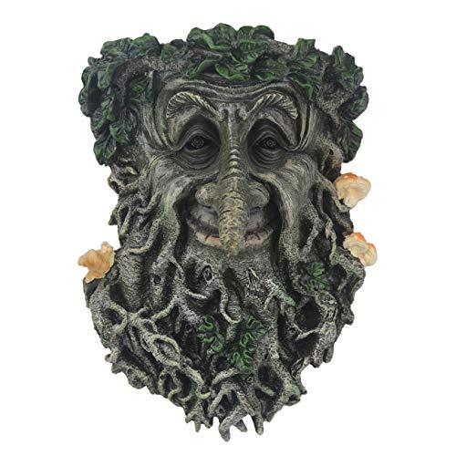 Decoraciones de jardín con cara de árbol, divertidas esculturas de árbol viejo para jardín, jardín, jardín, jardín, jardín, jardín y jardín