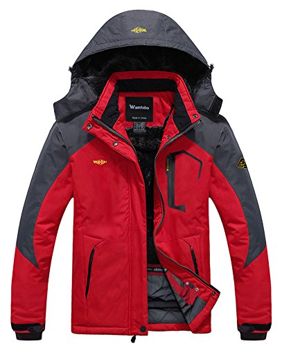 Wantdo Ski Jassen voor Dames Regenjassen Waterdicht Jacks