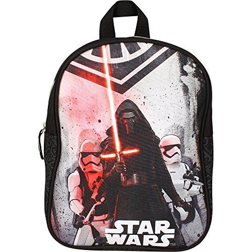 Disney 20449-9013 Star Wars Kinder-Rucksack, Schwarz