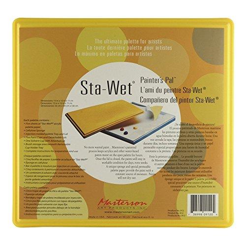 Masterson Sta-Wet Painters Pal Palette no. 912 Sta-Wet Painters Pal