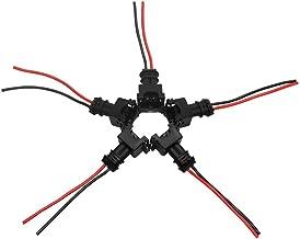 Rekkles 8PCS del inyector de Combustible Conector de cableado Tapones Clips de Recambio para el EV1 OBD1 coleta Corte/Empalme