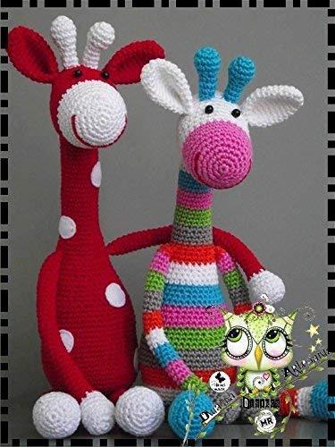 Giraffe Crochet Amigurumi Pattern   Giraffe crochet, Crochet ...   500x375