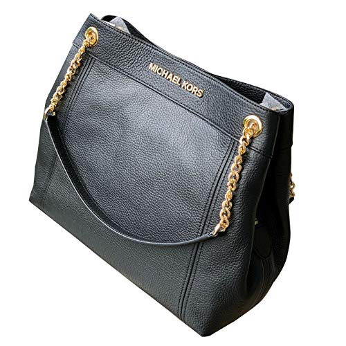 """Made of soft pebbled leather Light weight and spacious Top snap closure Inside 3 compartments with 1 zipped middle compartment, 2 slip pockets in the front compartment and 1 zip pocket in the back compartment 13""""L x 10.5""""H x 5""""D"""