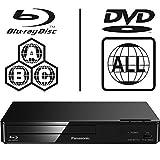 Panasonic DMP-BDT167EB-K Smart 3D ICOS Multi Region All Zone Code Free Blu-ray Player
