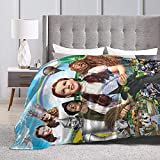 Hoxone The Wizard of Oz Fleece Blanket Cute Blanket Air Conditioning Blanket Blanket Soft, Comfortable and Warm Blanket Flannel Blanket 80'x60'