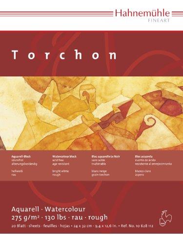 Aquarellblock Torchon 275g/m², 12x17cm, 20Blatt