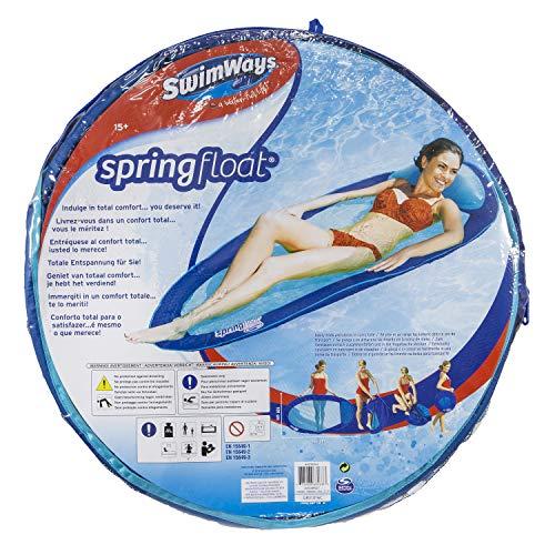 SWIMWAYS Spring Float Materassino Amaca Galleggiante, Colori Assortiti, 6045237