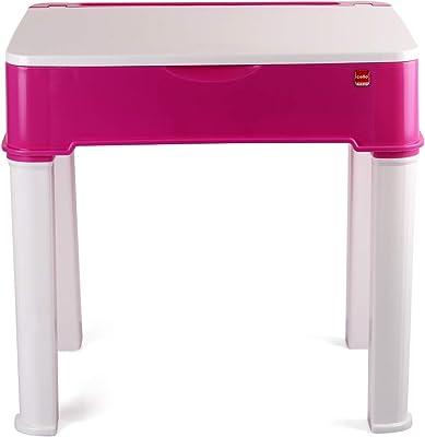 Cello Scholar Prime Kids Desk, Pink & White