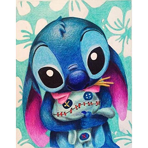 JMLYY 5D DIY Diamantmaler-Set,Malen nach Zahlen Diamant,Bilder Diamant Painting Kinder Stickerei Set Kreuzstich Bilder Wall Decoration (Stich)