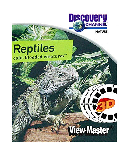 ViewMaster Discovery Channel - Reptiles -