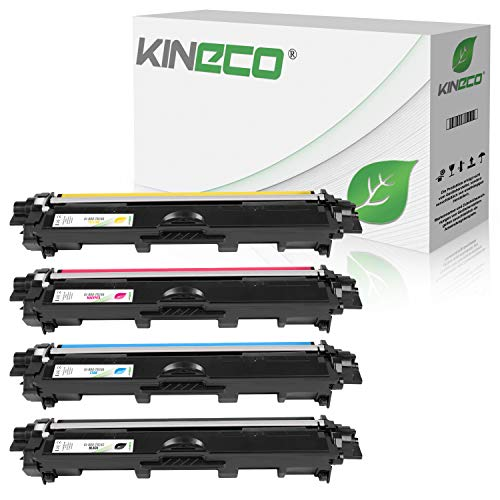 Kineco 4 Toner kompatibel für Brother TN-242 TN-246 für Brother DCP-9017CDWG1 9017CDWG1...