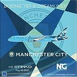 NG MODELO ETIHAD MANCHESTER CIUDAD para BOEING 787-9 DREAMLINER A6-BND 1/400 avión fundido a presión modelo avión avión