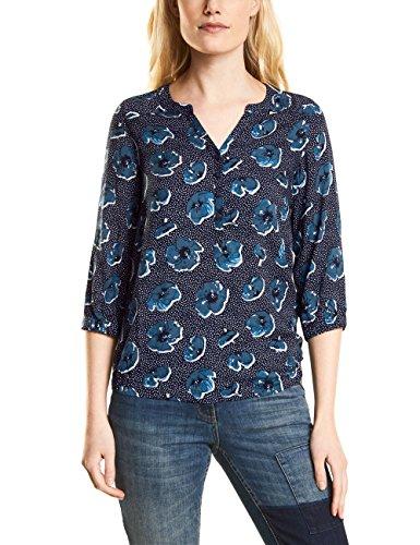 Cecil Damen 340786 Marieke Bluse, deep Blue, Large