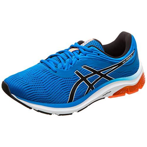 ASICS Herren Gel-Pulse 11 Running Shoes, Blau Directoire Blue White 400, 46.5 EU