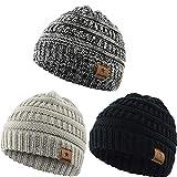 YAMENUSA Baby Hats Kids Knit Winter Warm Hat Boy Girl Infant Toddler Children's Beanie Caps