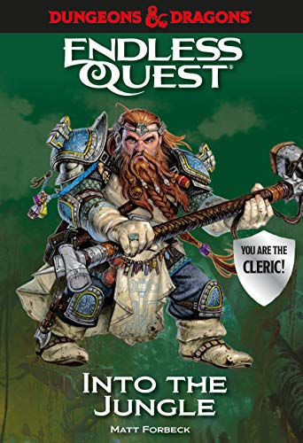 Dungeons & Dragons: Into the Jungle: An Endless Quest Book (Dungeons & Dragons Endless Quest)