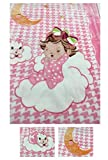 Cloud 9 Edition - Luxuriously Soft Mink Baby Blanket - Pink Color - 55in x 43in - Super Soft for Better Sleep