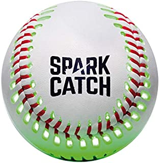Spark Catch The World's First LED Baseball That Has The Same Weight, Size and Genuine Leather Skin. The Most Ideal Solution for Play Catch at Night.