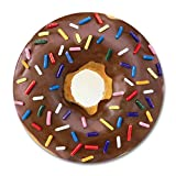 Simulation Doughnut Donut Customized Foodie Round Mouse pad 7.8'X7.8' inch