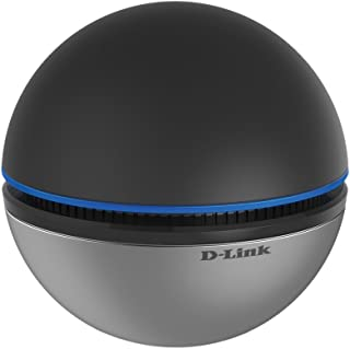 D-Link DWA-192 Wireless-AC1900 Dual Band Sphere-shaped SuperSpeed USB 3.0 Adapter Black-Silver