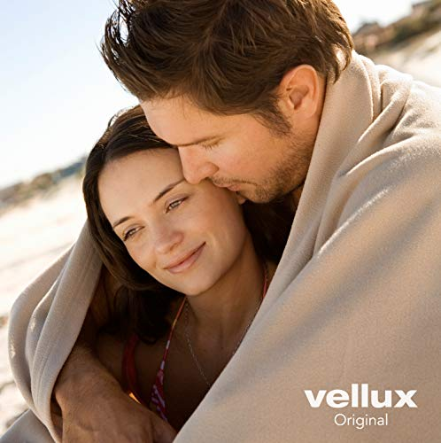 The Original Vellux Blanket - Full/Queen, Soft, Warm, Insulated, Pet-Friendly, Home Bed & Sofa - Wedgewood Blue
