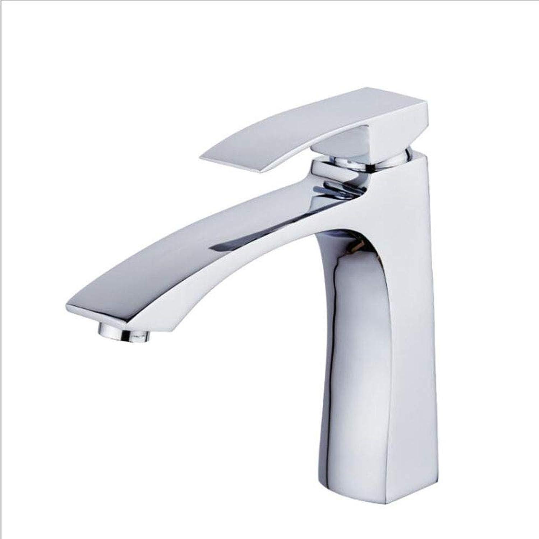 Wash Basins, Copper Single Hole Hot And Cold Water Bathroom Basin Washbasin Faucet