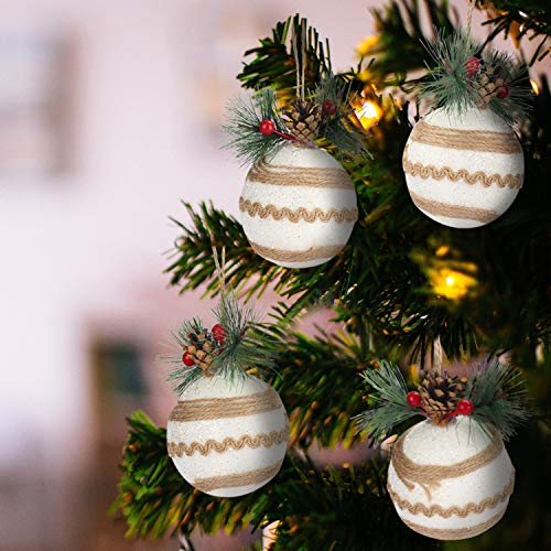 Decorazioni Natalizie Con Il Polistirolo.Palline Di Natale Shabby Chic Migliori Offerte 2021